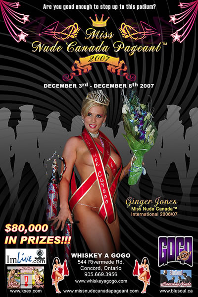 Miss Nude Pageant Canada 22
